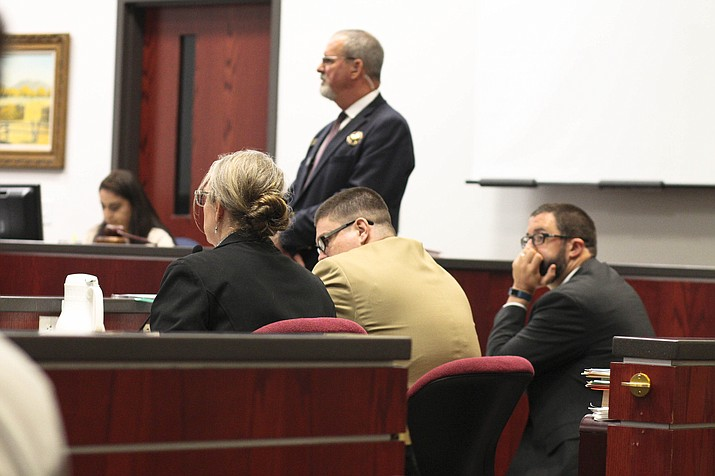 Derrick Barnett is on trial for the 2017 murders of Michael and Nora DiMuria. (Photo/WGCN)