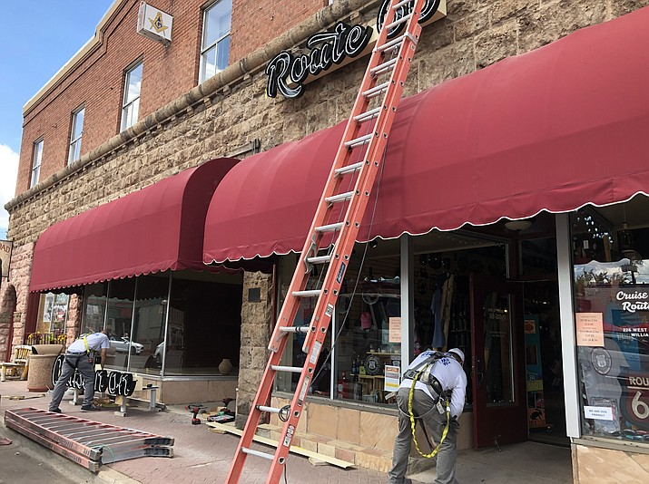 Cruise'n Route 66 shop opened earlier this summer and is in the process of expanding to a second shop next door. (Wendy Howell/WGCN)