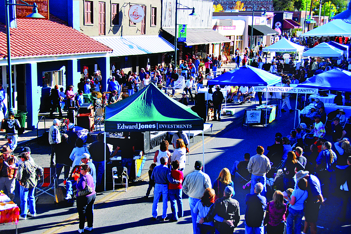 Art exhibits, retail vendors, and interactive displays will accompany the charming galleries, shops, and local restaurants of Old Town Cottonwood. Walkin' on Main also features a wine tasting garden courtesy of the Verde Valley Wine Consortium, a Car Show courtesy of the Mingus Union High School Auto Club, and live music throughout the day. VVN file photo