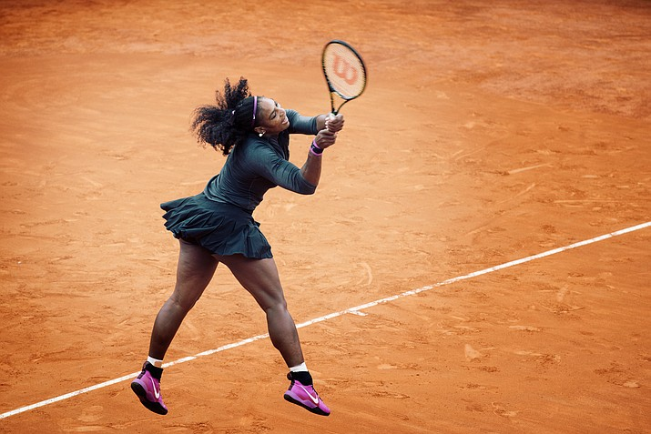Photo by Roberto Faccenda from Canale CN, Italy (Serena's racquet goes too fast for 1/640) [CC BY-SA 2.0  (https://creativecommons.org/licenses/by-sa/2.0)], via Wikimedia Commons