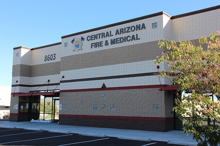 Central Arizona Fire and Medical Authority's administration building in Prescott Valley is where the Central Yavapai Fire District and Chino Valley Fire District boards often host their public meetings. (Max Efrein/Courier)
