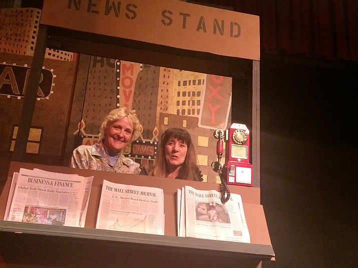 """Director and Musical Director Sandy Vernon, left, and choreographer Pam Cannedy are ready for Prescott Center for the Arts' """"Guys and Dolls,"""" which is on stage this month. (Jason Wheeler/Kudos)"""