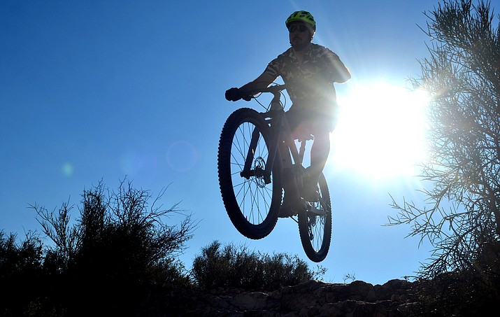 Throughout the Verde Valley, from Cottonwood to Sedona to the Village of Oak Creek, there is an abundance of mountain bike trails to challenge the skill set  of the most experienced to novice riders. VVN/Vyto Starinskas