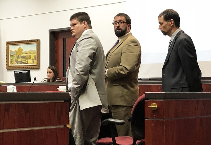 Derrick Barnett (left) was convicted Sept. 13, 2018 of murdering Williams residents Nora and Michael DiMuria. (Wendy Howell/Williams-Grand Canyon News)