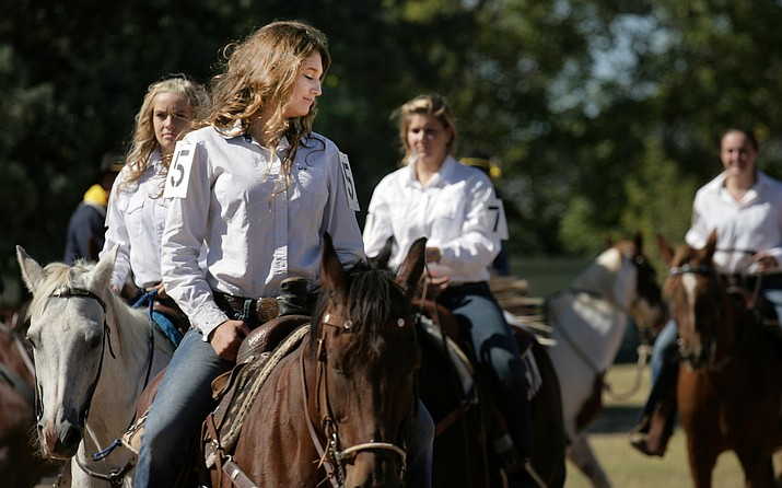 Camp's Verde's annual Colonel's Daughter competition rates competitors based on horsemanship, poise and personality. VVN/Bill Helm