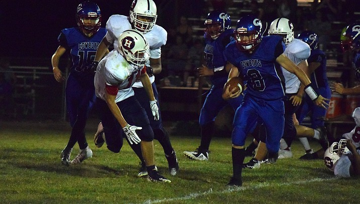 Camp Verde football crushes Valley Lutheran