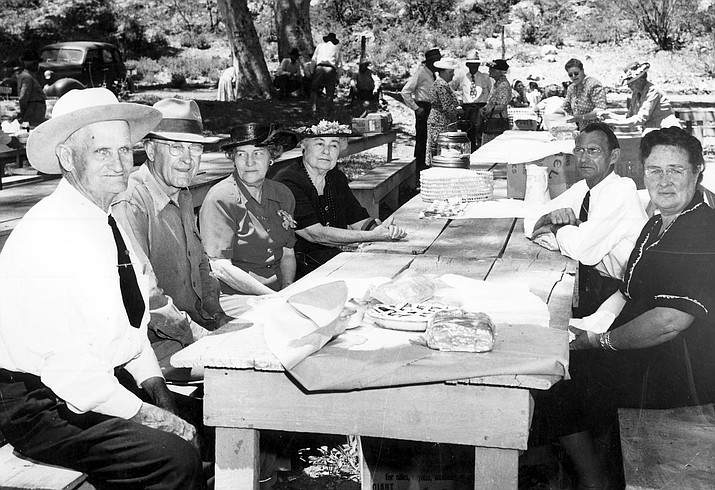 This year's Pioneer Picnic will be held from 11 a.m. until 3 p.m. Sunday, Sept. 23 at the Montezuma Well picnic area. Photo courtesy of the Camp Verde Historical Society.