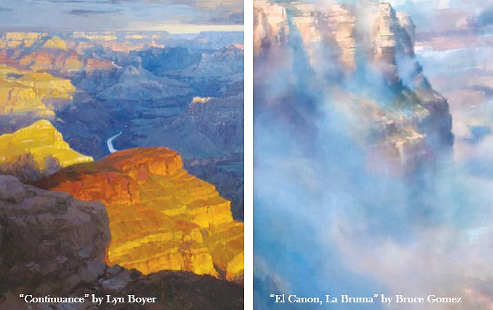 Twenty-five artists shared different interpretations of the Grand Canyon at this year's Celebration of Art. (Photos courtesy of Grand Canyon Association)