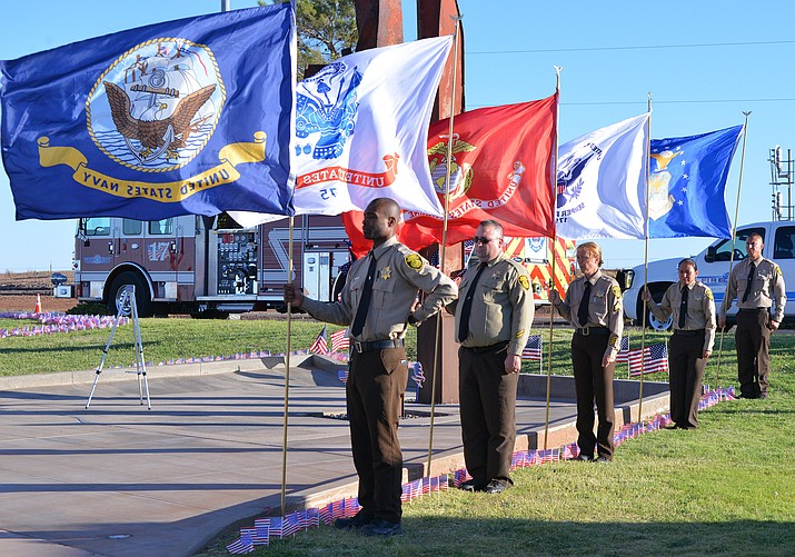 Winslow celebrated the 17th anniversary of the 9/11 attacks on the World Trade Centers Sept. 11. (Todd Roth/NHO)