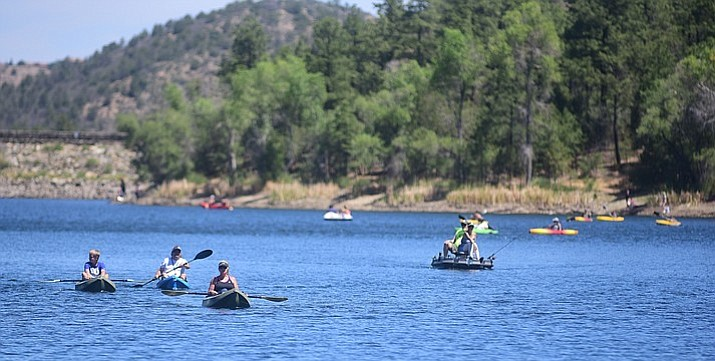 "Lynx Lake Recreation Area — North Shore, South Shore and Lynx Creek Ruin — can be enjoyed as a ""fee free day"" in celebration of National Public Lands Day on Saturday, Sept. 22. (Les Stukenberg/Courier file)"