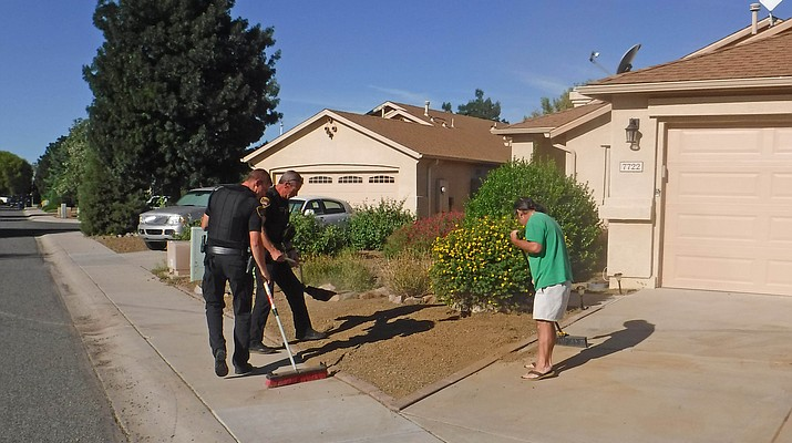 PVPD officers go extra mile in looking out for residents