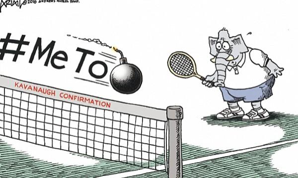 Opinion: Editorial Page Cartoon, 9-19-18