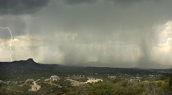 Monsoon season giving final push; Thunderstorms expected Wednesday photo