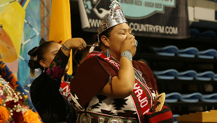 Miss Navajo crowned at Fort Defiance
