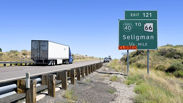Seligman hit hard by I-40 construction