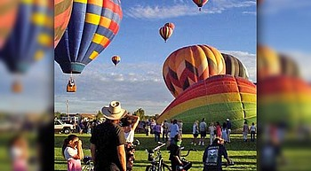Rotary Balloon Fest returns; seven balloons to glow Saturday evening photo