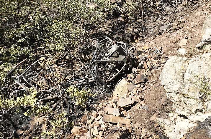 Four victims have been identified by Coconino County Sheriff's Office in a fatal ATV crash near Blue Ridge after the ATV went over a 400 foot cliff Sept. 15. (Coconino County Sheriff's Office)