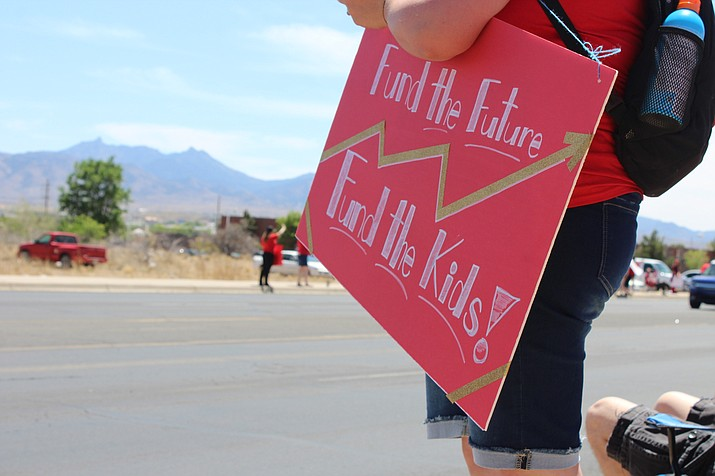 Teachers will hold a presentation regarding school funding and school board candidates will answer questions from the public from 1 p.m. - 3 p.m. Saturday at Kingman Regional Medical Center in the Hualapai conference room. (Photo by Vanessa Espinoza/Daily Miner)