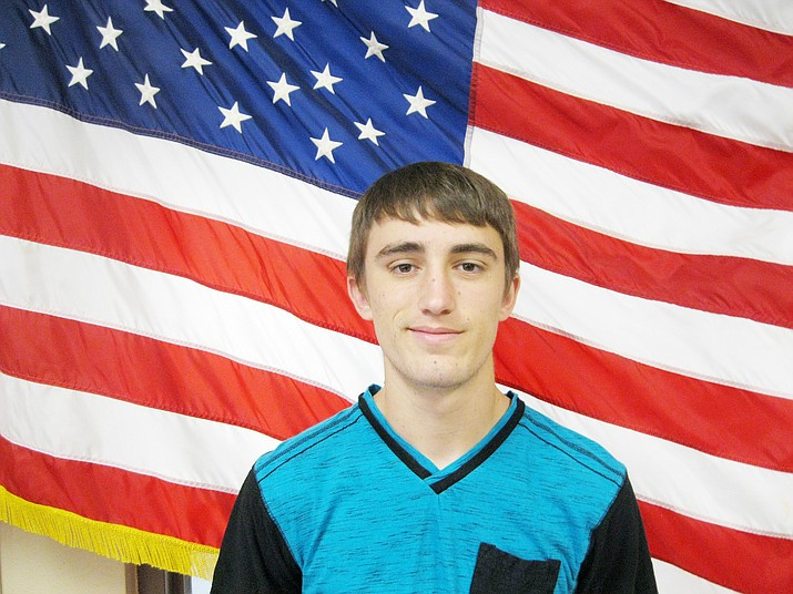 Camp Verde High School has announced that senior Steven Petty is the school's August 2018 Kiwanis Student of the Month.