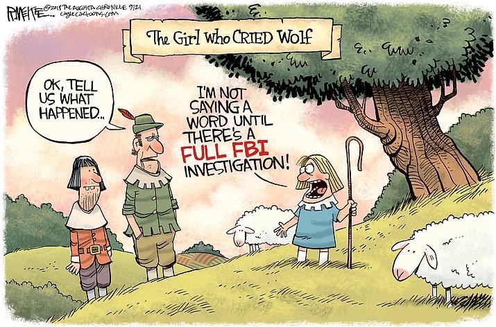 Editorial cartoon (2): Sept. 21, 2018