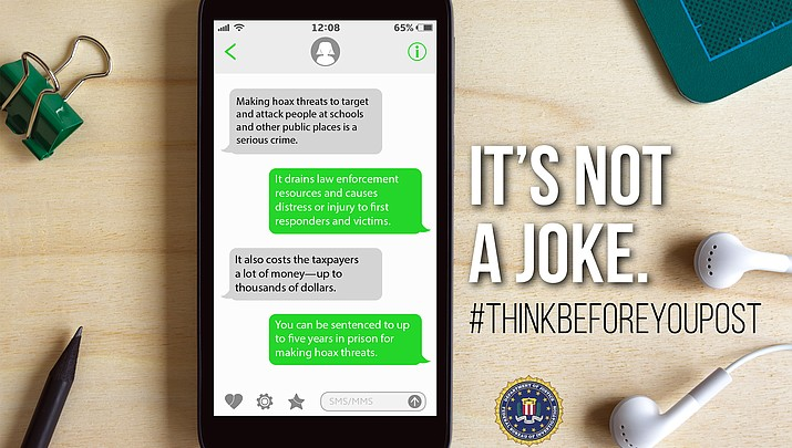 Think before you post: Hoaxes are taken seriously (at all times) locally