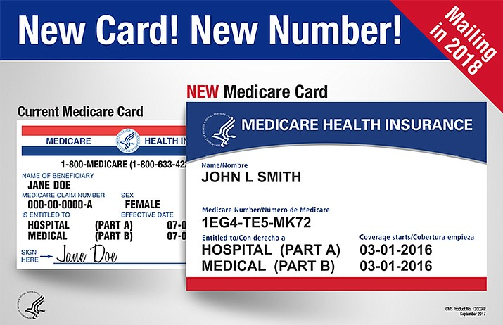 In April 2018 Medicare began mailing new cards to everyone who gets Medicare benefits. The new format helps protect user identity by removing Social Security numbers. Instead, the new cards have a unique Medicare Number. This new cards are being sent out automatically. Cardholders do not need to do anything or pay anyone to get your new card. (FTC)