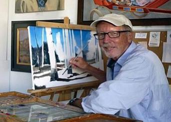 Local artist Clyde Ewalt.