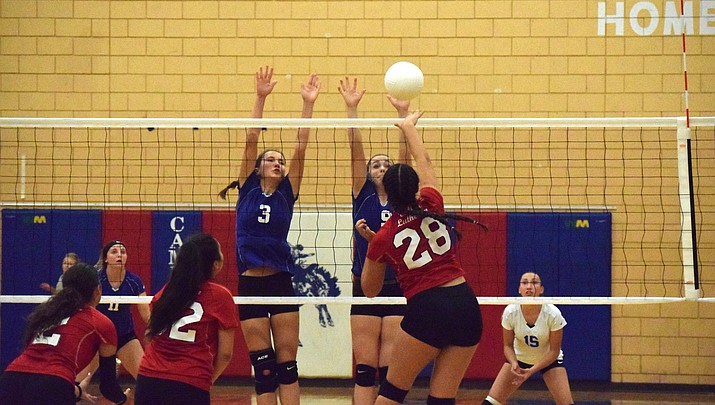 Camp Verde volleyball bounces back after Ash Fork tournament