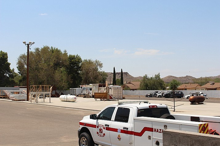 Kingman Fire Department Station No. 2's construction could depend on the result of the general election ballot measures. (Daily Miner file photo)