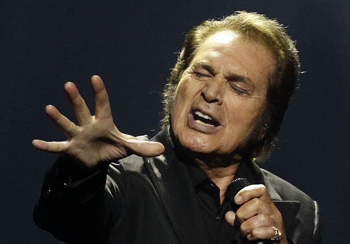 Engelbert Humperdinck will perform at 7:30 p.m. Monday at Yavapai College Performing Arts Center. (Sergey Ponomarev/AP file)