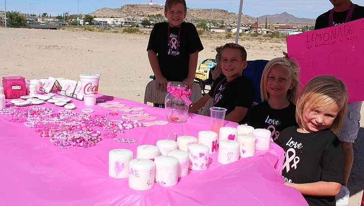 8-year-old Kingmanite making strides for breast cancer