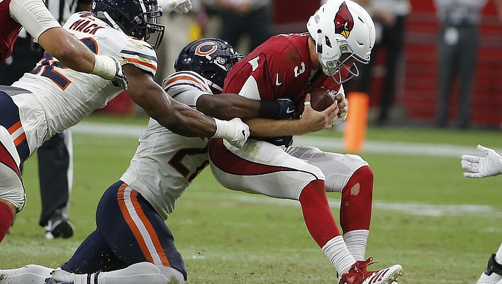 Cardinals facing quarterback quandary after loss to Bears