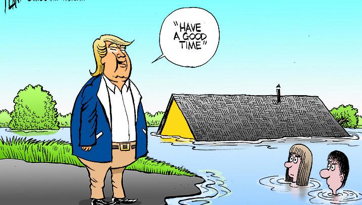 Editorial cartoon (1): Sept. 24, 2018