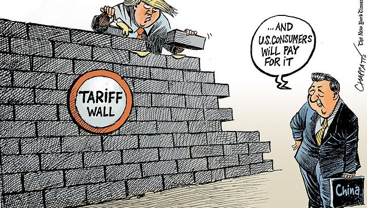 Editorial cartoon (2): Sept. 24, 2018