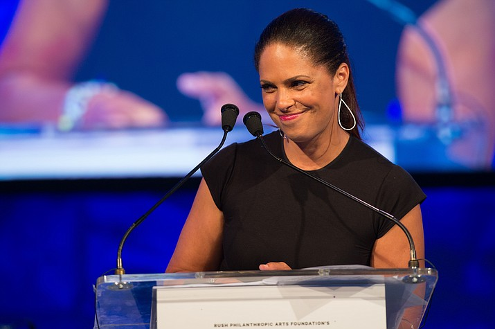 Soledad O'Brien will speak from 10 to 11:30 a.m. Tuesday at the Yavapai College Performing Arts Center, on the roles we play in our communities to create meaningful change. (Scott Roth/Invision/AP)