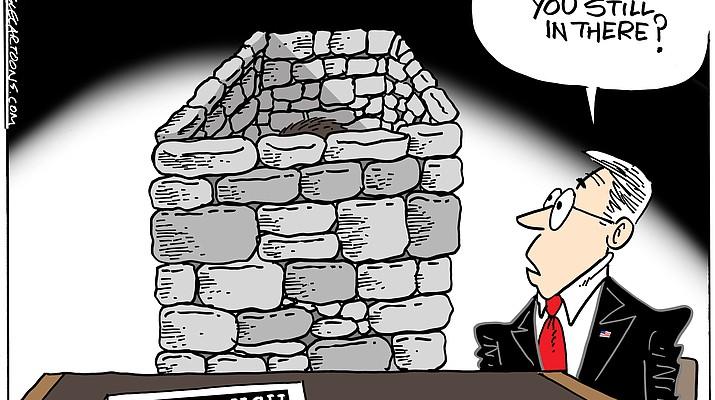 Editorial cartoon (PVT a): Sept. 26, 2018