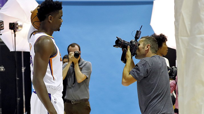 Point guard biggest question as Suns open camp