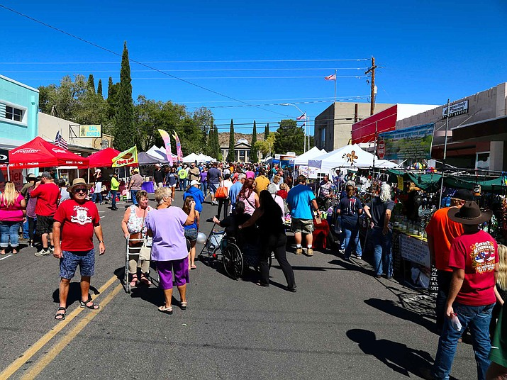 The Andy Devine Days Festival starts Friday and runs through Saturday. Some events, like the rodeo, continue Sunday. (Daily Miner file photo)