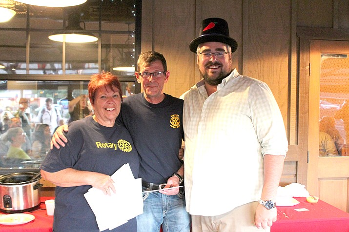 Perennial winner Brady Harris took the top prize for people's choice and best red chili at the Grand Canyon Rotary Club's annual chili cook-off Sept. 20 at Big E's Steakhouse. (Erin Ford/WGCN)