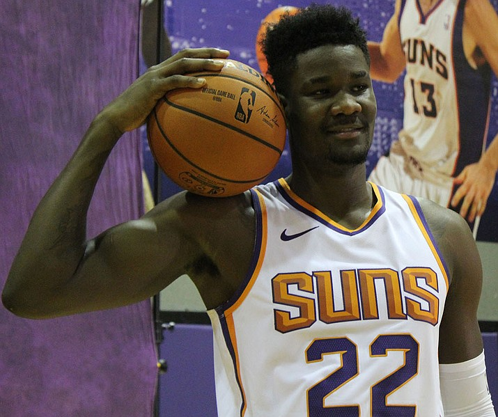 No. 1 overall pick Deandre Ayton has plenty of talent around him as he prepares for his first season with the Phoenix Suns. (Photo by Beau Bearden/Daily Miner)