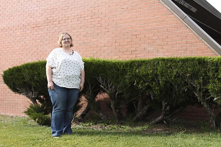Williams Elementary-Middle School teacher Donja Hadder is the recipient of a $2,000 Voya Unsung Hero grant. (Loretta Yerian/WGCN)