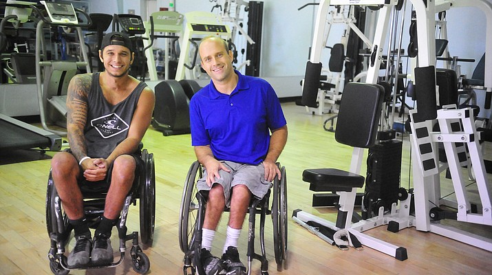 For wheelchair athletes Bogdanov and Schroeder, paramobile offers yet another sport to try — golf