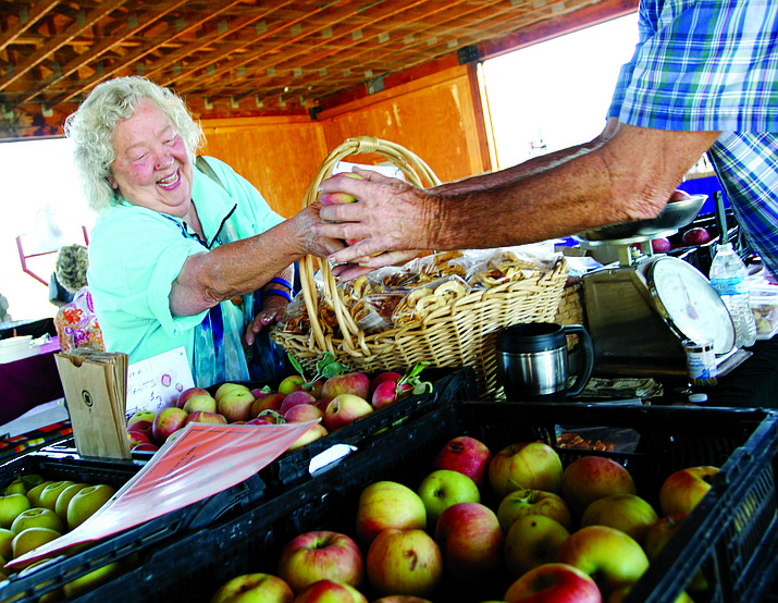 For the past 15 years, the Verde Valley Farmers' Market has been Camp Verde's go-to place for fresh produce. VVN/Bill Helm