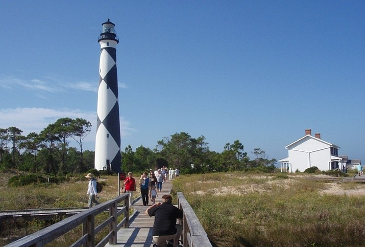 Lighthouse at Cape Lookout National Seashore, North Carolina. (Photo/NPS)