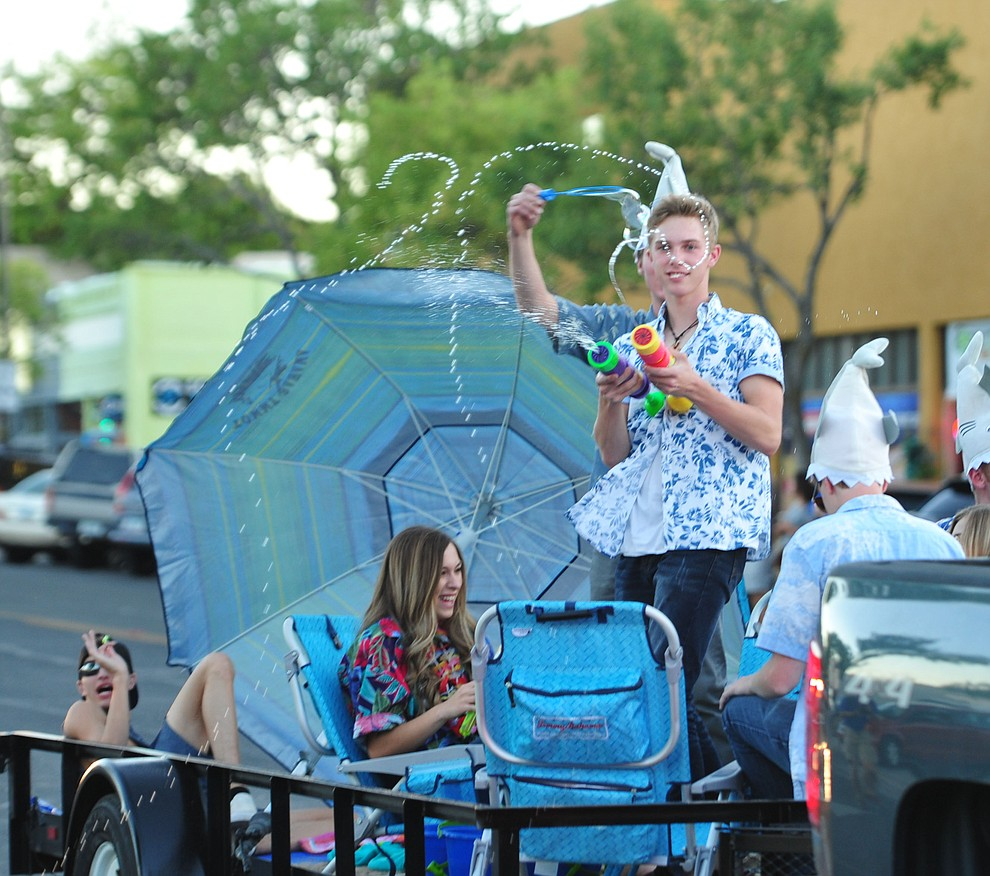 Prescott High School held their 2018 Homecoming Parade and Bonfire Thursday, Sept.27, 2018. (Les Stukenberg/Courier)