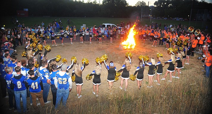 Prescott High School held their 2018 Homecoming Parade and Bonfire Thursday, Sept.27, 2018. (Les Stukenberg/Courier)