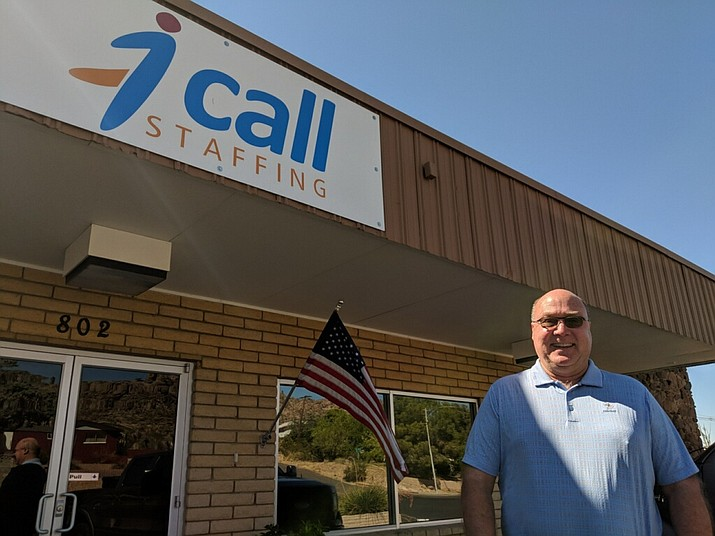 "Tom Beller, CEO and cofounder of 1-Call Staffing, spoke in a press release about the ""honor"" of making Inc. Magazine's annual list of the 5,000 fastest-growing private companies in America. (Photo by Travis Rains/Daily Miner)"