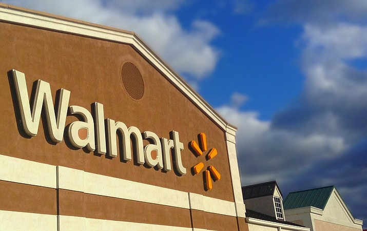 Corporate giants like Walmart are warning that President Donald Trump's tariffs on U.S. imports are raising their costs and prices. (Photo by MikeMozartJeepersMedia [CC BY-SA 3.0  (https://creativecommons.org/licenses/by-sa/3.0)], from Wikimedia Commons)