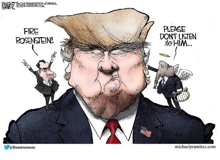 Editorial cartoon (2): Sept. 28, 2018
