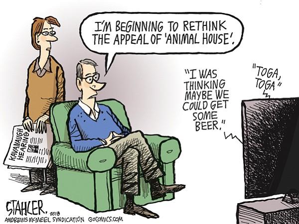 Editorial Cartoon: Sept. 28, 2018